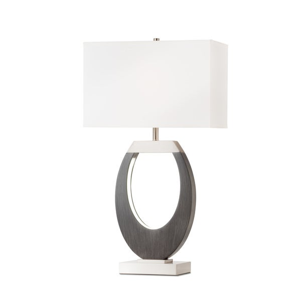 Nova Lighting Engagement Table Lamp, Charcoal Gray