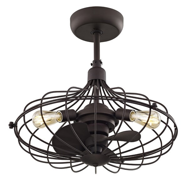 Shop Fifth And Main Havana 3-light Aged Bronze Ceiling Fan