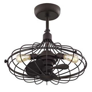 Fifth and Main Havana 3-light Aged Bronze Ceiling Fan
