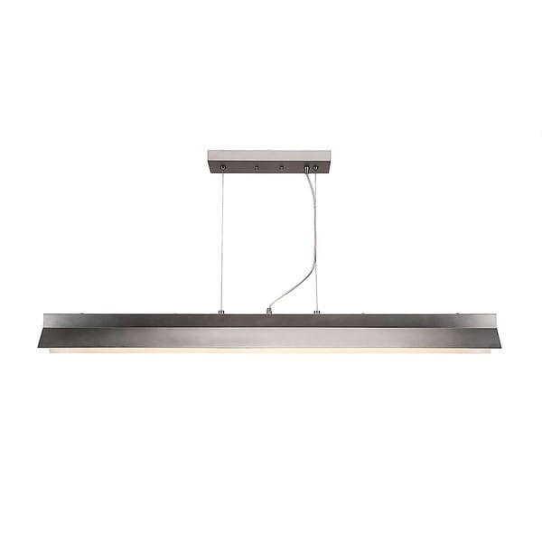 Integrated LED Island Light in Graphite Finish 90 Cri And 3000 Kelvins