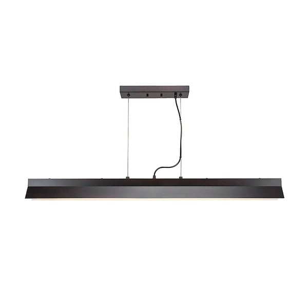 Integrated LED Island Light in Espresso Finish 90 Cri And 3000 Kelvins