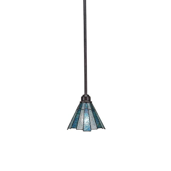 Tiffany-style 1-Light Mini Pendant