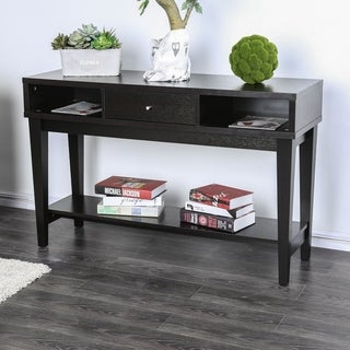 Furniture of America Cassandra Contemporary Espresso Console Table