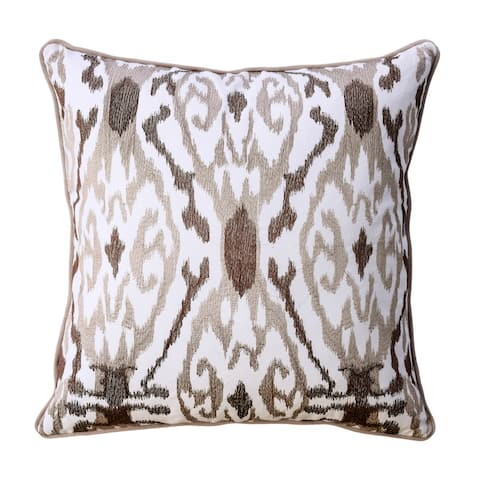 Furniture of America Nem Contemporary Brown Throw Pillows Set of 2