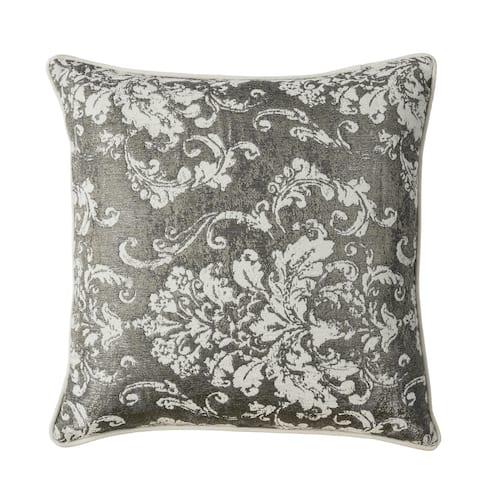 Furniture of America Taiz Contemporary Silver Throw Pillows Set of 2
