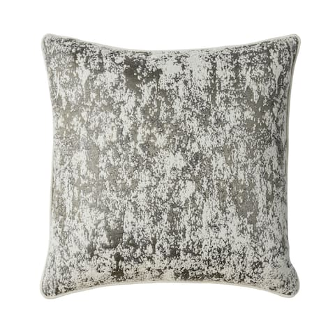 Furniture of America Ana Contemporary Silver Throw Pillows Set of 2