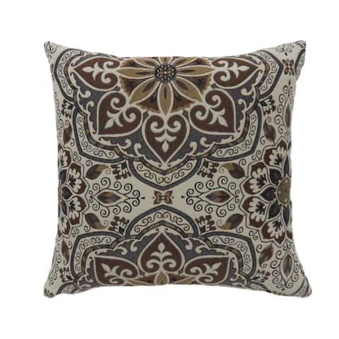 Furniture of America Bela Multi-color Fabric Throw Pillows Set of 2