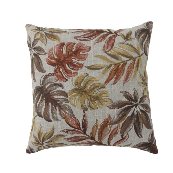 Furniture of America Isla Contemporary Fabric Throw Pillows Set of 2
