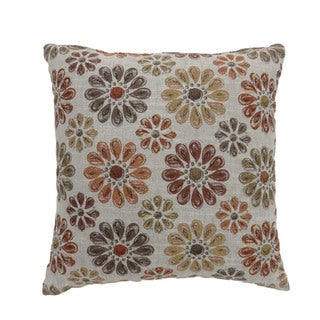 Furniture of America Lakeglenn Daisy Throw Pillows (Set of 2)