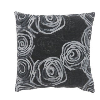 Furniture of America Lela Contemporary Floral Accent Pillows Set of 2