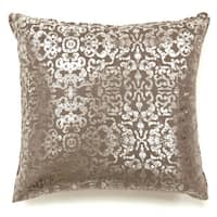Furniture of America Glemma Glam Beige Throw Pillows (Set of 2)