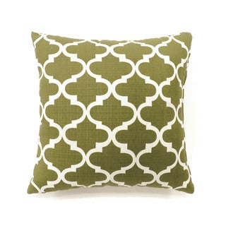 Furniture of America Kion Contemporary Fabric Throw Pillows Set of 2