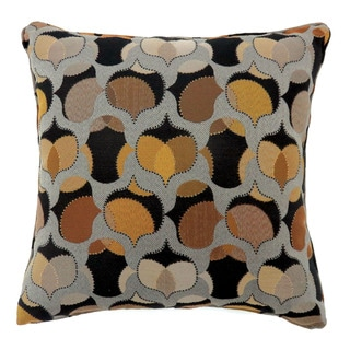 Furniture of America Fins Contemporary Fabric Throw Pillows Set of 2