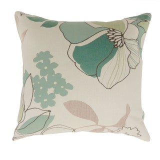 Furniture of America Dith Contemporary Floral Throw Pillows Set of 2