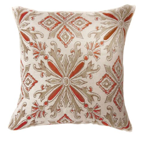 Furniture of America Nild Multi-color Throw Pillows Set of 2