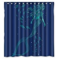 "Waterproof Decorative Vintage Vintage Mermaid Art 66""*72""-4 - N/A"