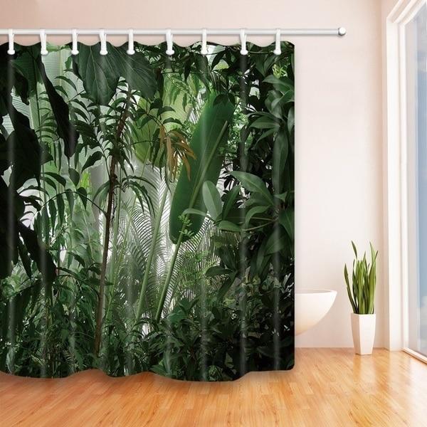 Shop Tropical Plants Decor Jungle Green Banana Leaves