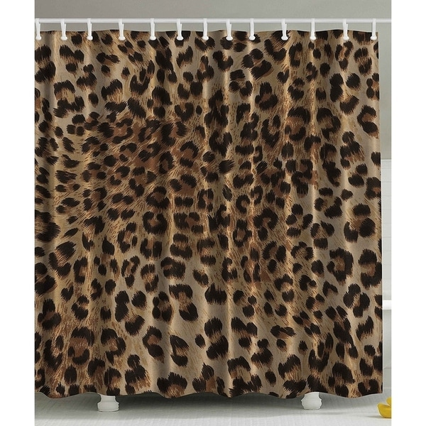 Bathroom Accessories Leopard Print Sexy Shower Curtain