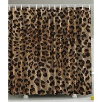 Bathroom Accessories Leopard Print Sexy Shower Curtain - N/A