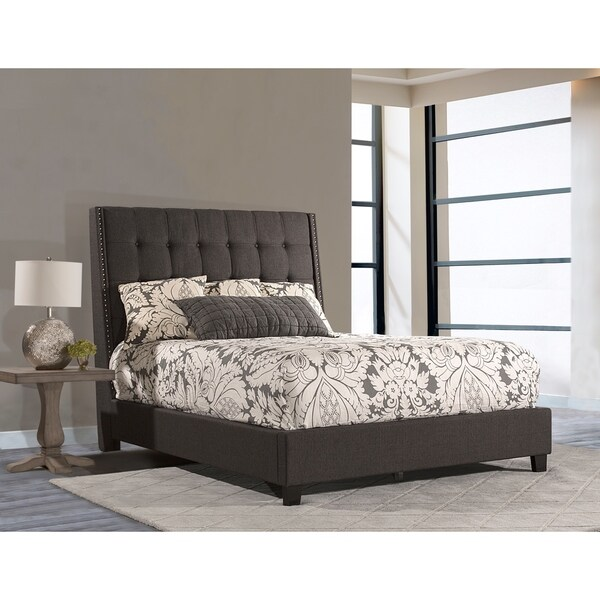 shop meridan bed queen side rails included free shipping today 20298985. Black Bedroom Furniture Sets. Home Design Ideas