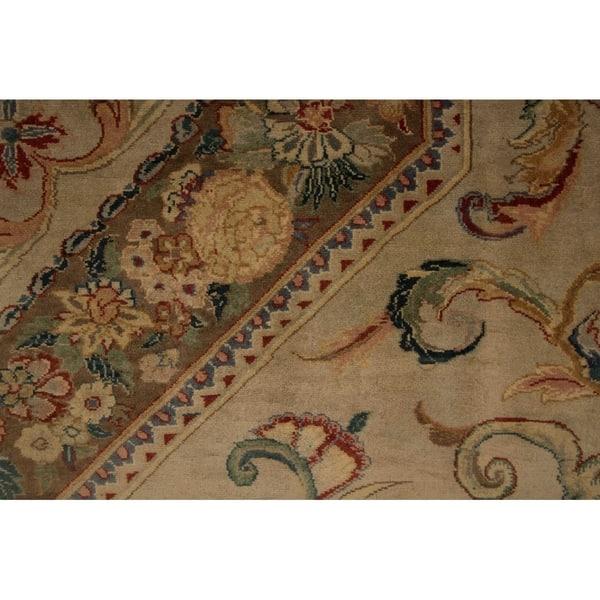 Noori Rug Pak Persian Wali Cornelius Green Brown Rug 9 1 X 12 3 On Sale Overstock 20299084