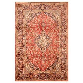 Handmade Kashan Wool Rug (Iran) - 8'2 x 12'