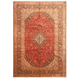 Handmade Kashan Wool Rug (Iran) - 8'5 x 11'9