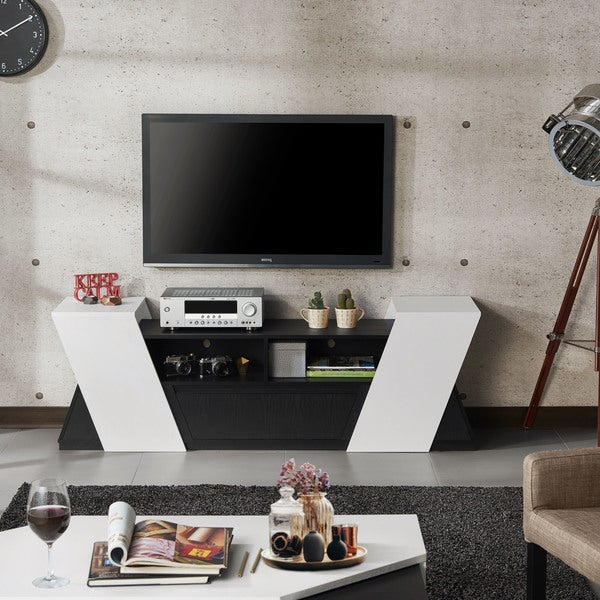 Furniture Of America Glennhall Contemporary 70 Inch TV Stand