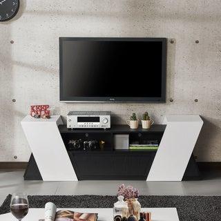 Furniture of America Rase Contemporary 71-inch Storage TV Stand