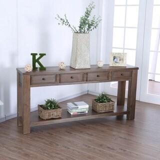 Furniture of America Cosbin 4-drawer Sofa Table