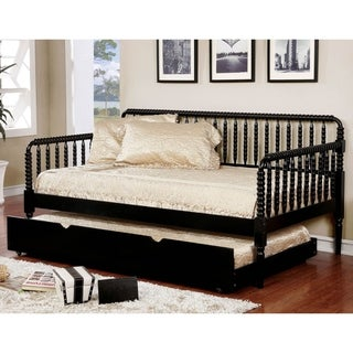 Furniture of America Nuct Traditional Twin Solid Wood Slatted Daybed