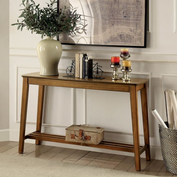 Rustic Sofa Tables For Sale: Shop Furniture Of America Layton Rustic Midcentury Modern