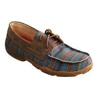 Men's Twisted X Boots MDM0062 Driving Moc Loafer Multi Serape/Bomber Canvas