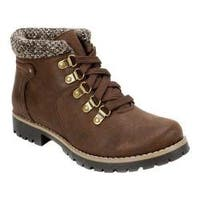 Women's White Mountain Perry Winter Boot Brown Fabric