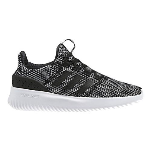 Shop Men s adidas NEO Cloudfoam Ultimate Running Shoe Core Black Core Black FTWR  White - Free Shipping Today - Overstock - 17979689 bb04c0f63