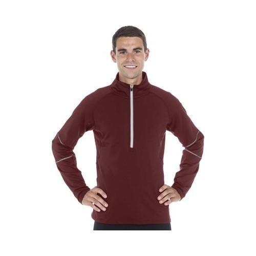 0c96fb5fa4d3 Shop Men s SportHill 360 Visibility Jacket Syrah Syrah Embossed ...