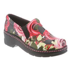 Women's Klogs Naples Clog Sweet Rose Leather