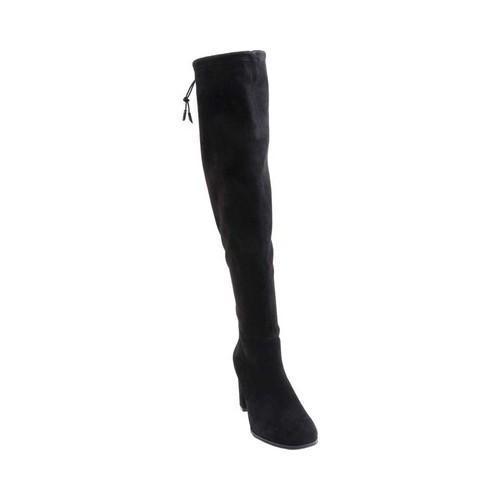 b33974df48c Shop Women s Blondo Kali Waterproof Over The Knee Boot Black Suede - Free  Shipping Today - Overstock - 17969925