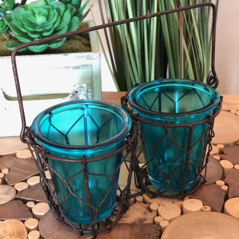 ESH Two Votive Candle Holder
