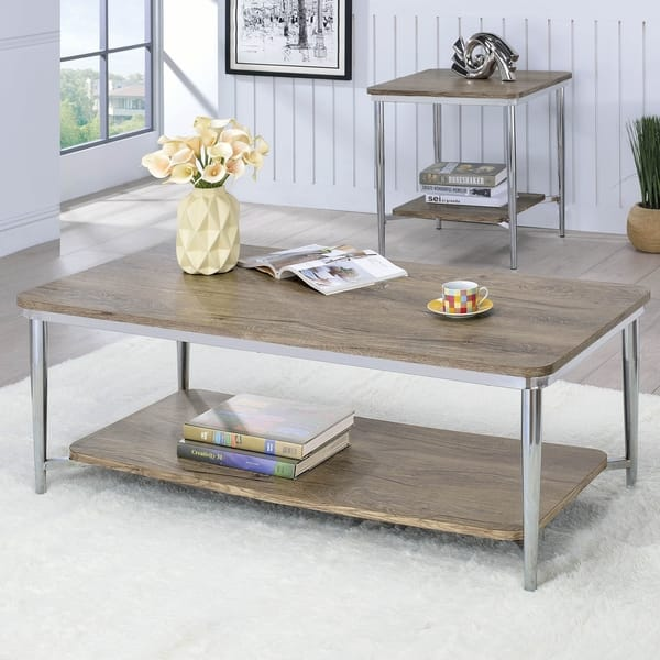 Cool Marlo Contemporary Chrome Coffee Table By Foa Gmtry Best Dining Table And Chair Ideas Images Gmtryco