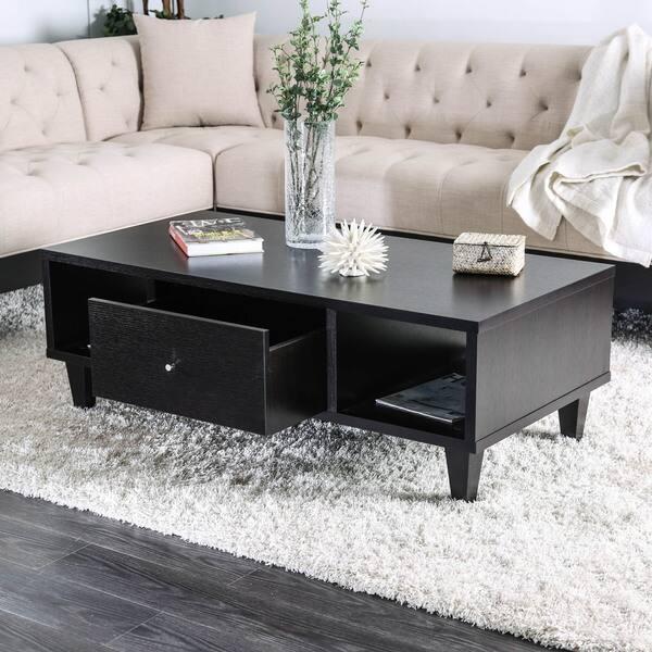 Pleasant Cassandra Contemporary Espresso 1 Drawer Coffee Table By Foa Ibusinesslaw Wood Chair Design Ideas Ibusinesslaworg