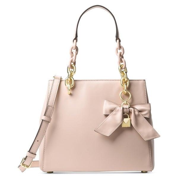 54d5e6523637 MICHAEL Michael Kors Cynthia Small North South Convertible Satchel Soft Pink