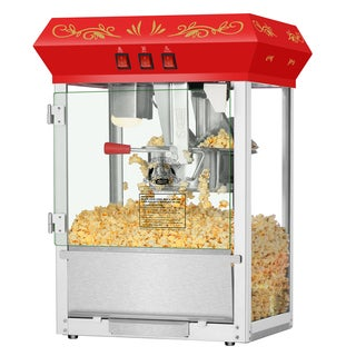 Superior Popcorn Countertop Popcorn Machine (Red)