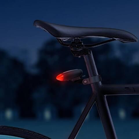 Solar Flashing LED Bike Safety Light
