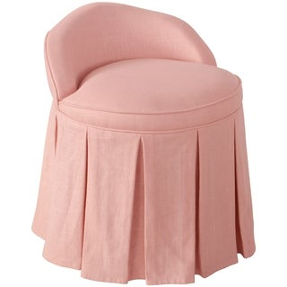 Skyline Furniture Kid's Vanity Chair in Linen Petal