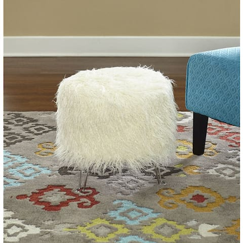 Livi Faux Fur Hair Pin Stool