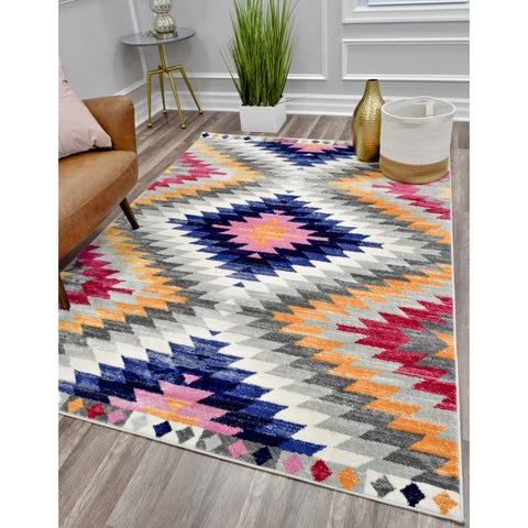 """CosmoLiving Maghreb rug - 5'3""""x7'"""