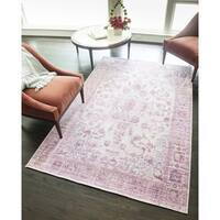 Goddess Distressed Modern Bohemian Area Rug - 8' x 10'