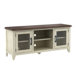 "Wilderness Run TV Stand for TVs up to 60"", Brushed White"