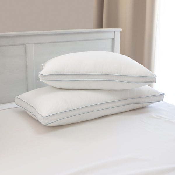 Restonic TempaGel Max Temperature Regulating Cooling Pillow (Set of 2) - White